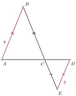 Задача репетитора по математике на доказательство параллельности прямых